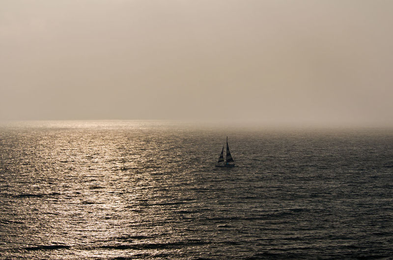 Golden fog Oahu