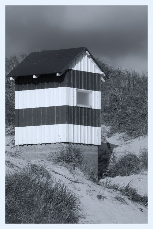 Little Lighthouse Architecture Black & White Black And White Blackandwhite Building Exterior Built Structure Bw BW Collection Bw_collection Day Denmark Dunes House Lighthouse Lighthousephotography Monochrome Navigation No People Outdoors Sky Small Lighthouse Tranquil Scene Tranquility Transfer Print Vorupør