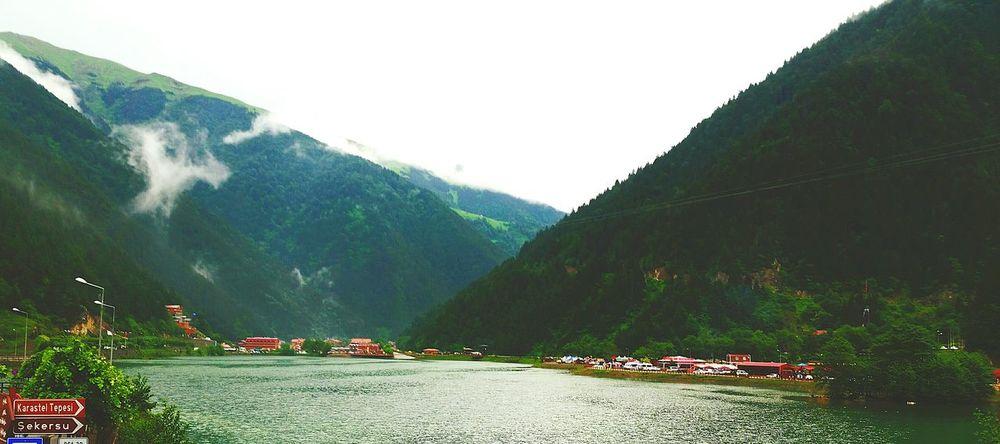 Huzur 💕 Göl Balık Gokyuzu Vadi Dağ Yüksekrakım