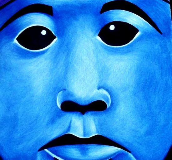 Blue Man Blue