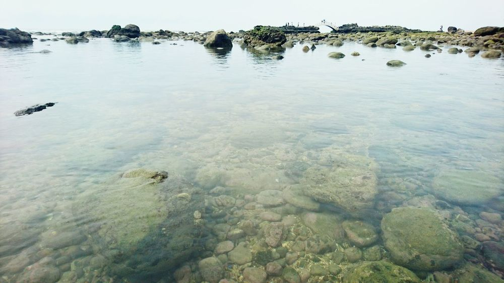 Can you see it!? Beach Nature Photography Water Ocean Coastline Rocks Beautiful Taiwan