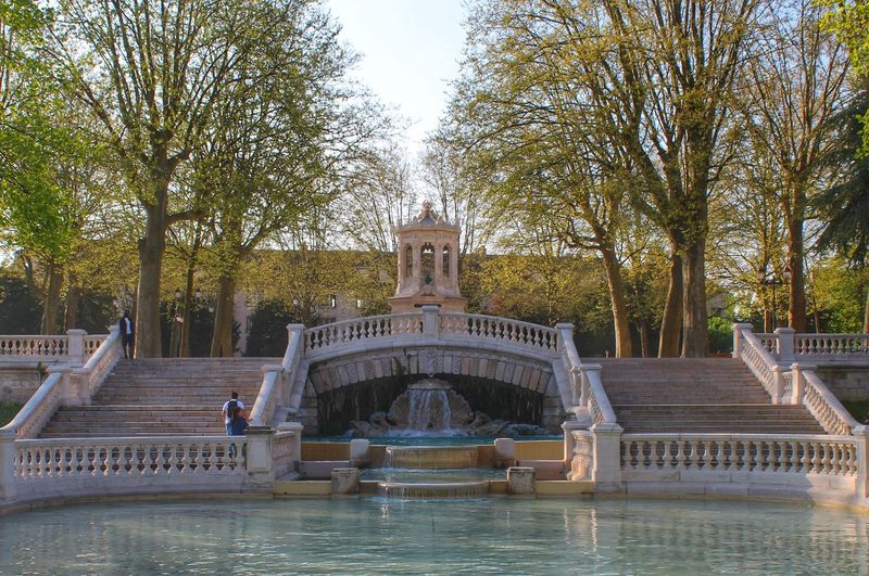Water Fountain Tree Swimming Pool Architecture Built Structure Outdoors Day Travel Destinations Statue Drinking Fountain No People Building Exterior Sky Swimming Nature