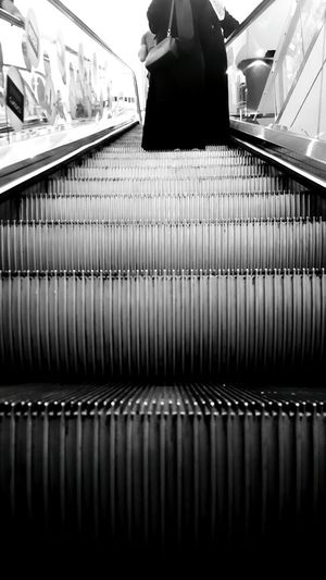 Hanging Out Taking Photos Check This Out Hello World Relaxing Hi! Enjoying Life Architecture Stairs Walking Stairs Photography Black And White Black & White Black And White Photography Blackandwhite Urban Geometry Shopping Center People