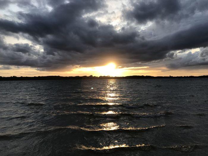 Plauer See Sky