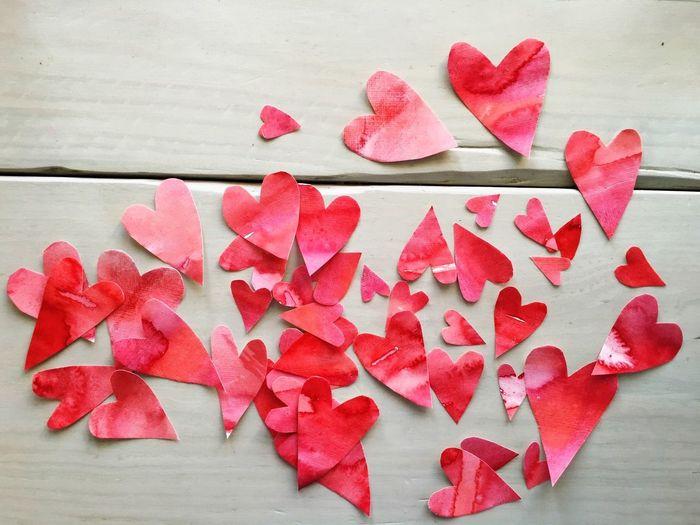 Hearts Herzen Valentinstag