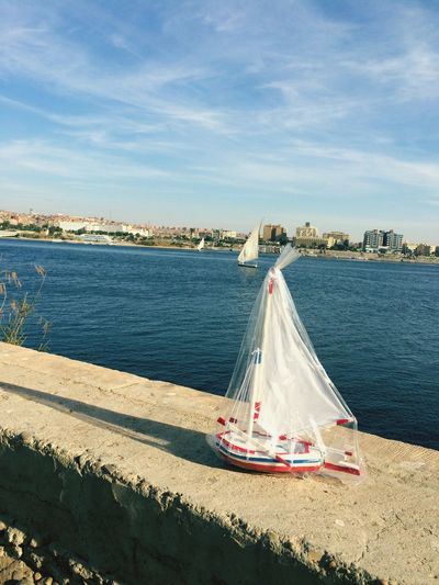 Egypt Egyptian Boat Boat Sailing Nile Aswan Water River Handcraft Nubian Nuba Small And Big Boats⛵️