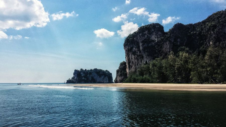 Afternoon Blue Sky Southeast Asia ASIA Outdoors Andaman Sea Ocean Mountain Trang Southern Thailand Beach Trang Province Spotted In Thailand Miles Away Sommergefühle Lost In The Landscape