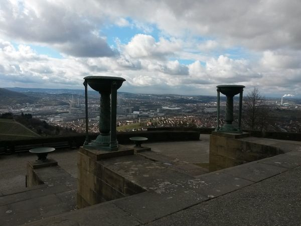 Day Urban Skyline No People Cloud - Sky Outdoors Architecture Cityscape City Sky Rotenberg Grabkapelle Stuttgart View From Rotenberg View From The Top Beauty In Nature Dramatic Sky Storm Cloud Sky And Cloud Collection Early Spring Impression Early Spring
