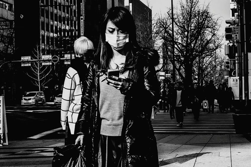 Street Japan Monochrome B&w Street Photography Cityscapes People Photography