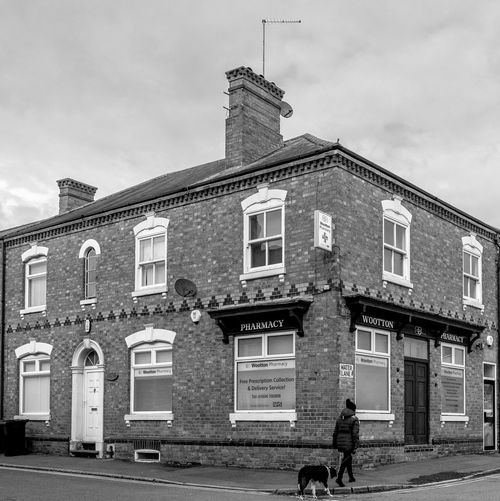 Chemist, High Street, Wootton Northamptonshire Blackandwhite Black And White Monochrome Street Urban FUJIFILM X-T2 Wootton Architecture Building Exterior Built Structure