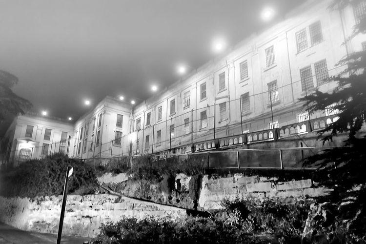 Alcatraz Island, San Francisco, CA Jay_silva Malephotographerofthemonth Taking Photos Check This Out Coastline Traveling EyeEm Best Shots Black & White Sanfransisco Haunted