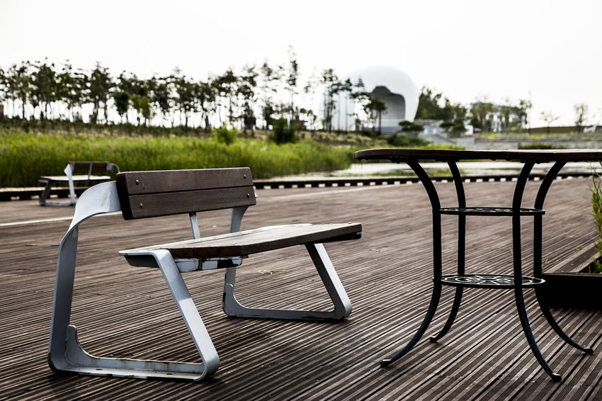 Absence Arabatgil Autumn Bench Chair Control Empty Footpath Leading Order Park Park - Man Made Space Park Bench Relaxation Relaxing Safety Shadow Sitting Table Tree Tree Trunk Waiting For Someone Wooden