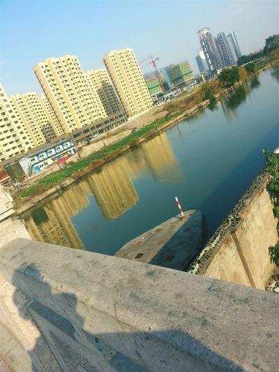 Sunnyday☀️ Lake Building Exterior Bridge Railing Keqiao Shaoxing