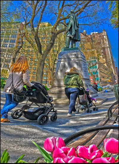 Uncle Abe over L👁👁Kin' Union Sq. 4/13/16 Blend Layers W/ Ps CC 2016 Creativity EyeEm Master Class Historic Statue Of Abe Lincoln @ Union Sq. Park, NYC IPhone 2 Shot Panorama Stitched In Edit W/ In Cam Raw IPhoneography 6s Malephotographerofthemonth My Point Of View W/ HDR Outdoors Sculpture Showcase April Statue
