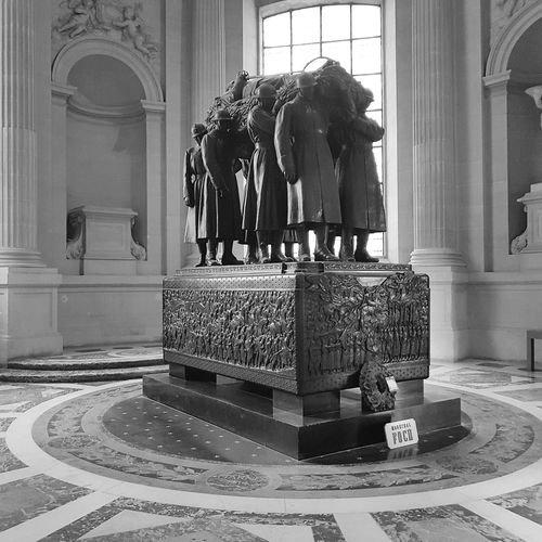 Statue History Arch Ornate Indoors  Sculpture Architecture Architectural Column Travel Destinations Arts Culture And Entertainment Built Structure No People Day Foch Paris France Lesinvalides Les Invalides The Week On EyeEm