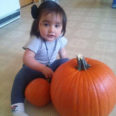 Abby loves pumpkins Abigailrose Halloween Pumpkins