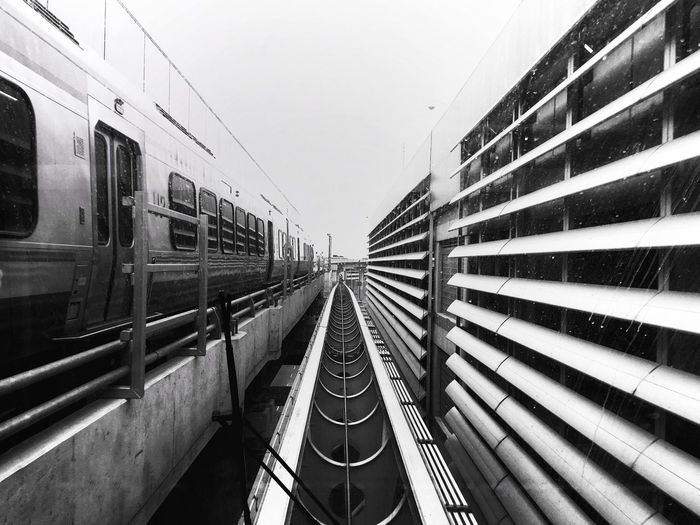 Railroad By Tracks