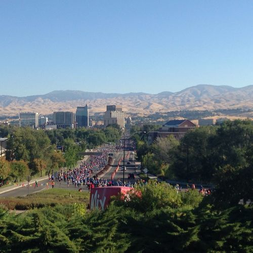 Fit One race is Boise, Idaho in support of the hospital. Totally Worth It Hello World 5k Run Boise