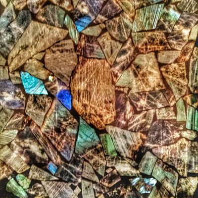 Labradorite. A rock found only on Labrador. Sherrye and Gary my hosts in Appleton showed me this. Quite the colorful rock! • Tstcanada with @explorecanada & @nfldandlabrador • Explorecanada TravelNL • Travel Canada Newfoundland Photography •