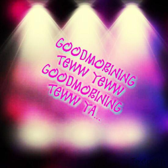 GoodMorining