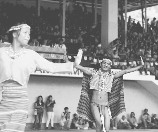 Arts Culture And Entertainment Bontoc Boys Crowd Culture Dance Dancer Festival Ifugao Large Group Of People Leisure Activity Lifestyles Loincloth Outdoors Performance Philippine Festival Real People Smile The Photojournalist - 2017 EyeEm Awards The Portraitist - 2017 EyeEm Awards Tribal Dance Tribal Wear Be. Ready.