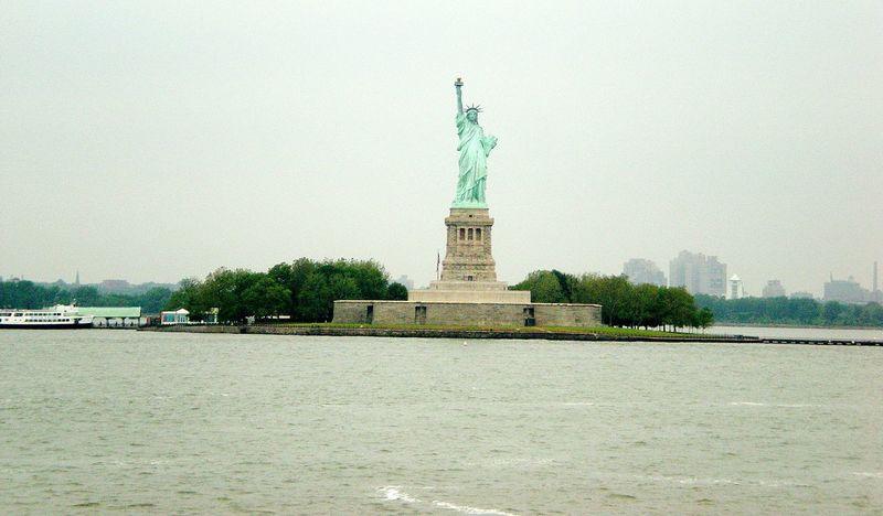 New York Statue Of Liberty Staten Island Ferry