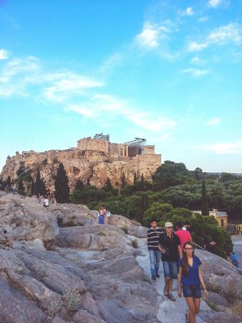 Acropolis, Athens People Photography Peoplewalking Great View Historical Monuments Mycity