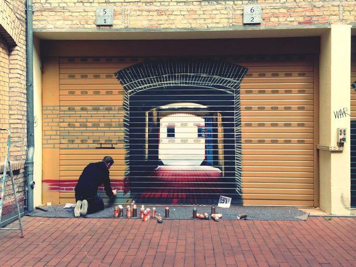 Streetart Berlin Yards