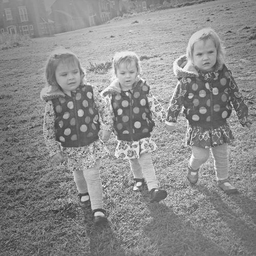 Triplets Sisters Best Friends ❤ LOVE MY GIRLS!
