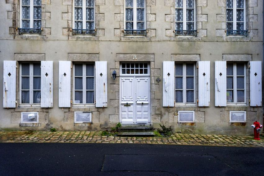 Entrance Façade France Normandie Architecture Building Exterior Built Structure Day Door Granville No People Normandy Outdoors Window