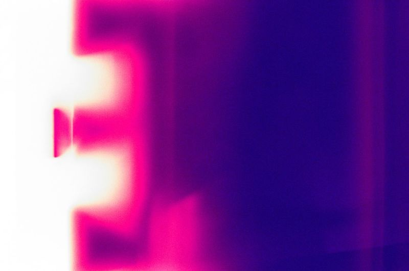 19-year-old film, developed in 2019 35mm Analogue Photography Pink Color Abstract Backgrounds Multi Colored Illuminated No People Blurred Motion Purple Light Glowing Textured  Light Effect