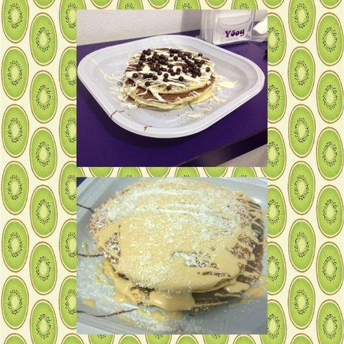 Felicità Cibo Cosedolcicoccolose Pancake Ingrassiamo 😍😍 @vinset29