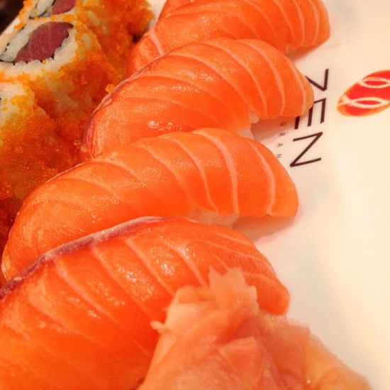 🐟Salmon Fish Fresh Salmonmaki Bangkok Thailand Japanfood Japanstyle