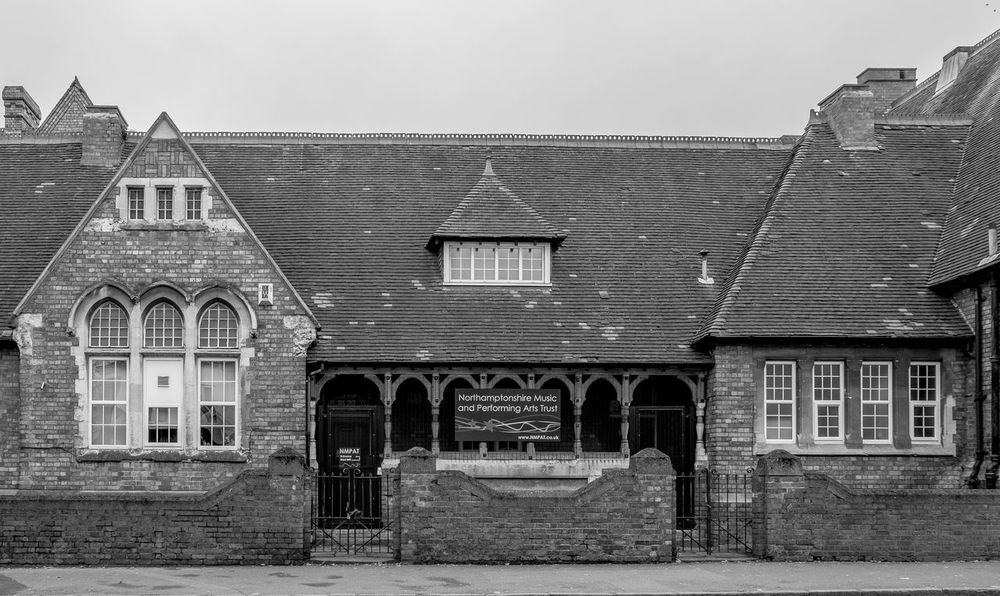 Former John Claire School, Kettering Road, Northampton Architecture Street Urban Black And White Northampton Industrial Landscapes FUJIFILM X-T2 Monochrome Photography Monochrome Kettering Road School
