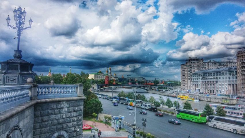 Moscow Russia MotherRussia Russianstyle Kremlin Moscowriver Bridge River