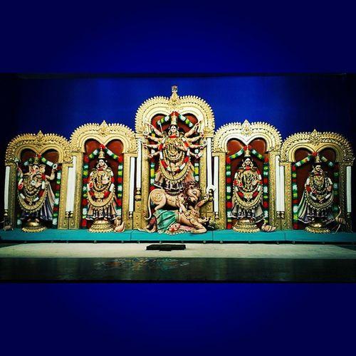 MaaDurga Goddess Citybengaliclub Navratri festival religious devotional hinduism instaindia indiacolors ig_india igramming_india colorful ig_indiashots igersworldwide vscocam vscoindia vscophile bestofvsco bestoftheday picoftheday htcones jabalpur