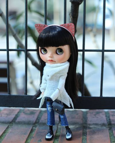 Ariana-ish Japan Toy Doll Blythe KAWAII Cute Fashion Music Arianagrande Looking At Camera Childhood Innocence One Person Portrait Cute Front View Girls Outdoors EyeEmNewHere