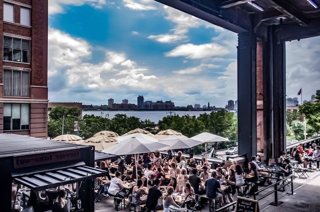 Large Group Of People Architecture Sky Cloud - Sky Building Exterior Day Built Structure Men City Crowd Real People Summer Summer In The City Hudson River High Line Park Urban Urban Oasis People Adult Adults Only