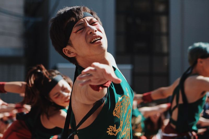 Dance Festival Real People Lifestyles Focus On Foreground Leisure Activity Women People Group Of People Headshot Event Enjoyment Men Performance Day Outdoors Arts Culture And Entertainment Arms Raised