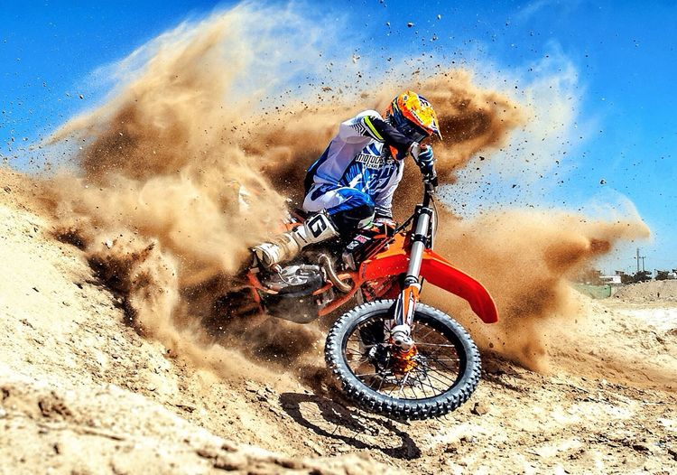 Motocross Kuwait The Human Condition.