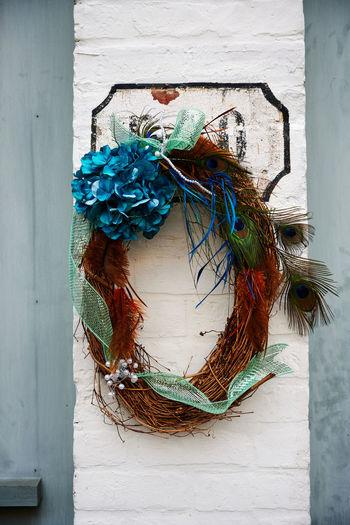 Wreath on a