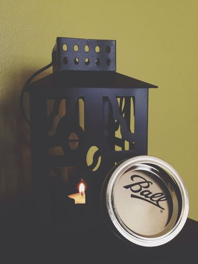 | Mmmm! Candlelights Smells Good BallmasonJar top