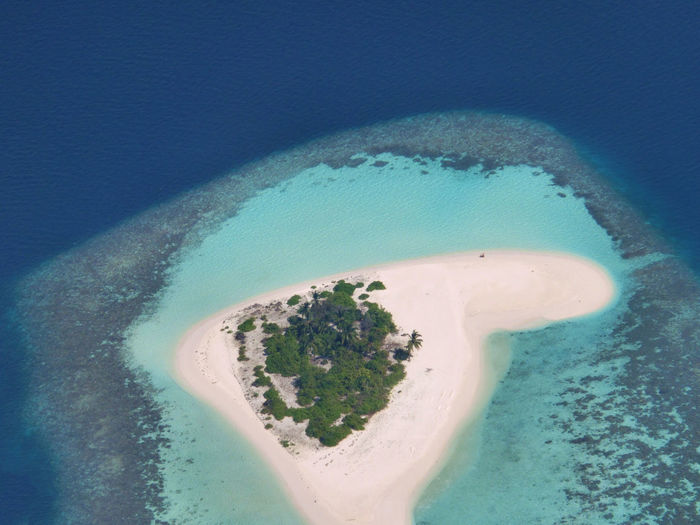 Island Maldives Aerial Photography Water Sea Blue Beach Land Nature No People Beauty In Nature High Angle View Scenics - Nature Turquoise Colored Ocean