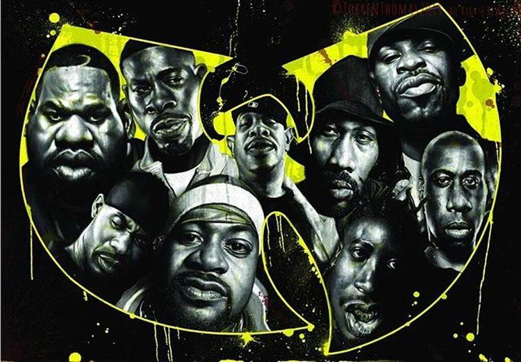 Wutangclan RZA GZA Ghostfacekillah Raekwon Methodman InspectahDek UGod MastaKilla Cappadonna HipHop Oldschool Rap Rprsnt Team