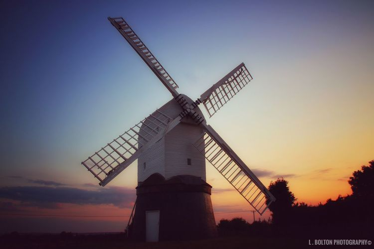 The current mill dates from the 1760-90 it was used until 1940, it sat unused until 1961. The Wrawby Windmill Preservation Society restored it to its former glory. It reopened on the 18th September 1965 and the first bag of corn ground. Wrawby Windmill is now one of only 42 remaining postmills and only a handful of them are well maintained and in working condition like this one. Please check out The Wrawby Windmill Society they are a registered charity. Canonphotography Lincolnshire Postmill Windmill Sky Renewable Energy Alternative Energy Wind Power Environmental Conservation Sunset Turbine Rural Scene Nature Architecture