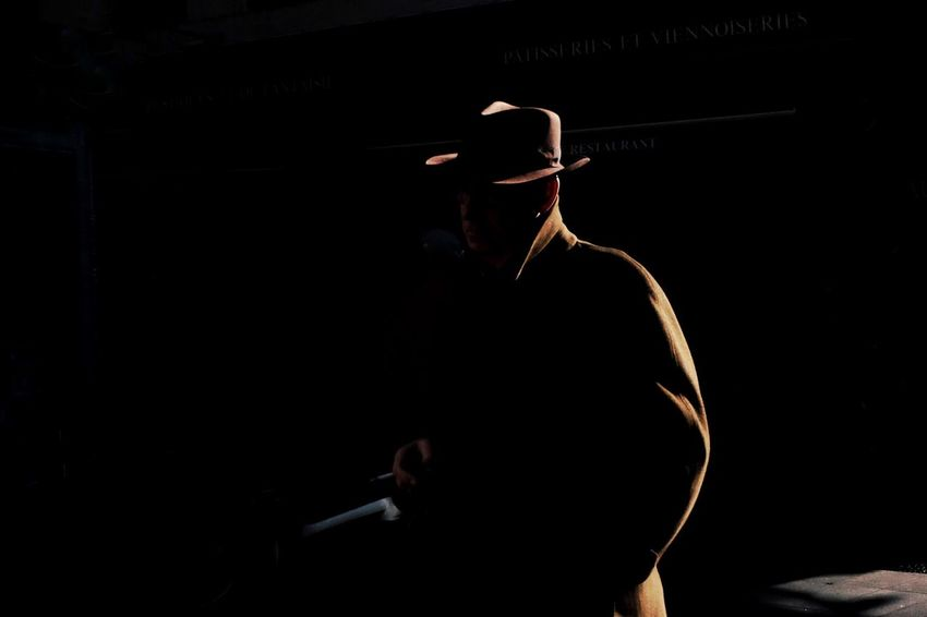 One Person Black Background People Day Rear View Lifestyles Street Life Colors Streetphoto Men Streetphotographer Color Photography Streetfashion Real People Black Background Silhouette The Street Photographer - 2017 EyeEm Awards