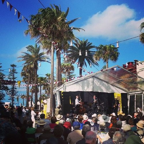 Manly Jazz festival: you were spectacular today! Manlyjazzfestival ManlyBeach Jazz LiveMusic Manly Australia instagood summer