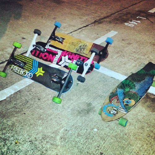 Freebord sessions!! Oh and a Longboard too.. Freebordsg