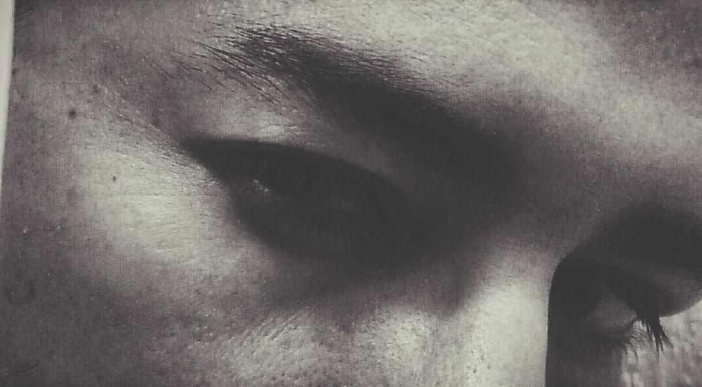 Selfportrait Selfie Mirrorpicture Evillook #eyes