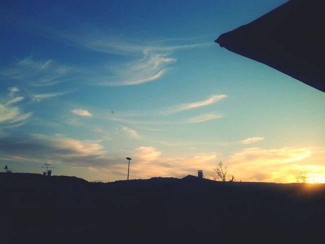Paysage Soleil Nuage Ciel